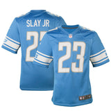 Adult Detroit Darius Slay Jr Nike Honolulu Blue Game Jersey