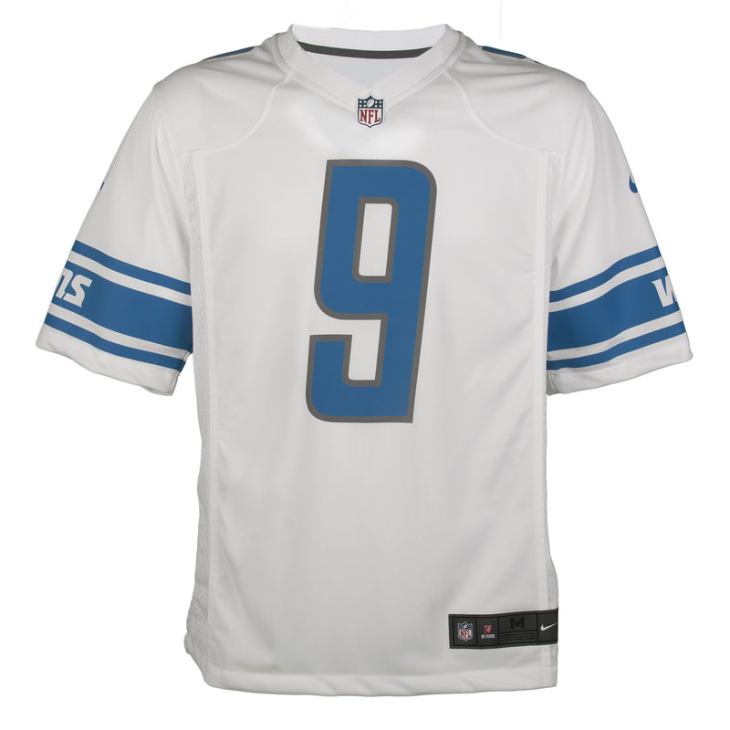 Youth Detroit Matthew Stafford Nike White Game Jersey