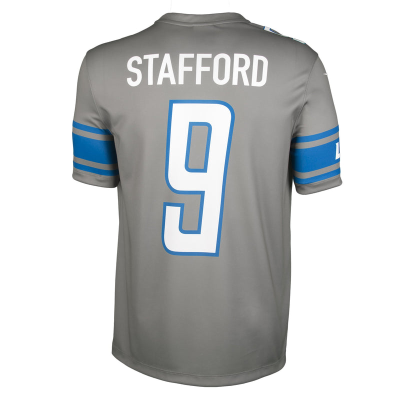 Adult Detroit Matthew Stafford Nike Silver Color Rush Legend Jersey