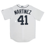 Adult Detroit Victor Martinez White Cool Base Jersey
