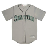 Adult Seattle Robinson Canó Majestic Grey Cool Base Jersey