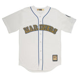 Adult Seattle Ken Griffey Jr Majestic White Cool Base Retired Player Vintage Jersey - HOF Patch