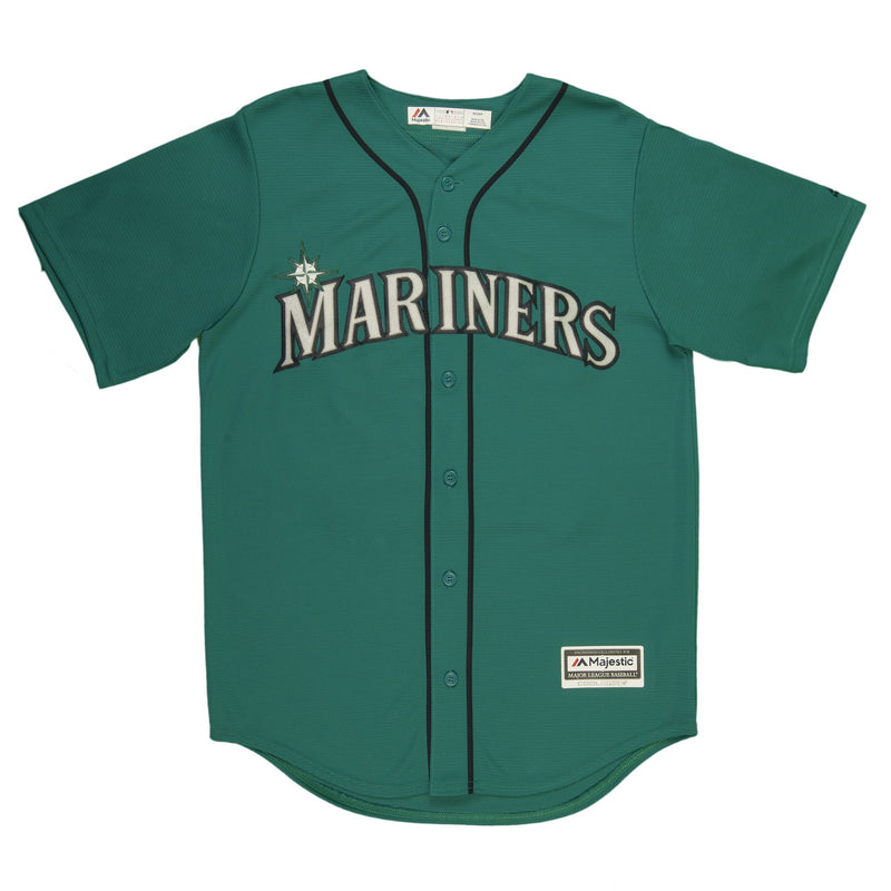 Youth Seattle Felix Hernandez Majestic Northwest Green Cool Base Jersey