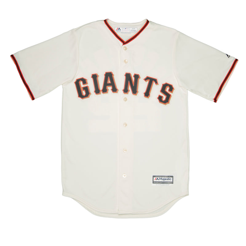 Adult San Francisco Johnny Cueto Cream Cool Base Jersey