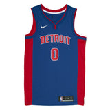Adult Detroit Andre Drummond Nike Blue Swingman Icon Jersey