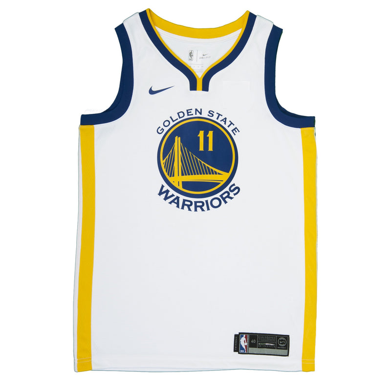 Adult Golden State Klay Thompson Nike White Swingman Association Jersey