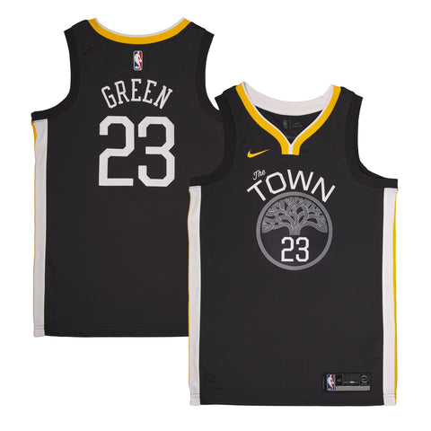 Adult Golden State Draymond Green Nike Black Swingman Statement Jersey