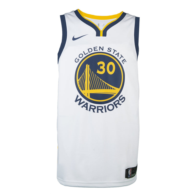 Adult Golden State Stephen Curry Nike White Swingman Association Jersey