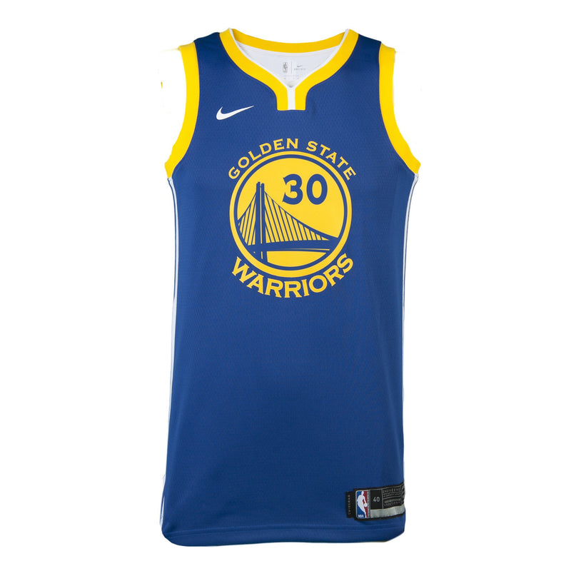 Youth Golden State Stephen Curry Nike Blue Swingman Icon Jersey