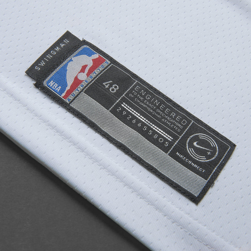Adult Golden State Draymond Green Nike White Swingman Association Jersey - Sponsor Patch
