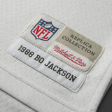 Adult Oakland Bo Jackson Mitchell and Ness White Retired Player Vintage Jersey