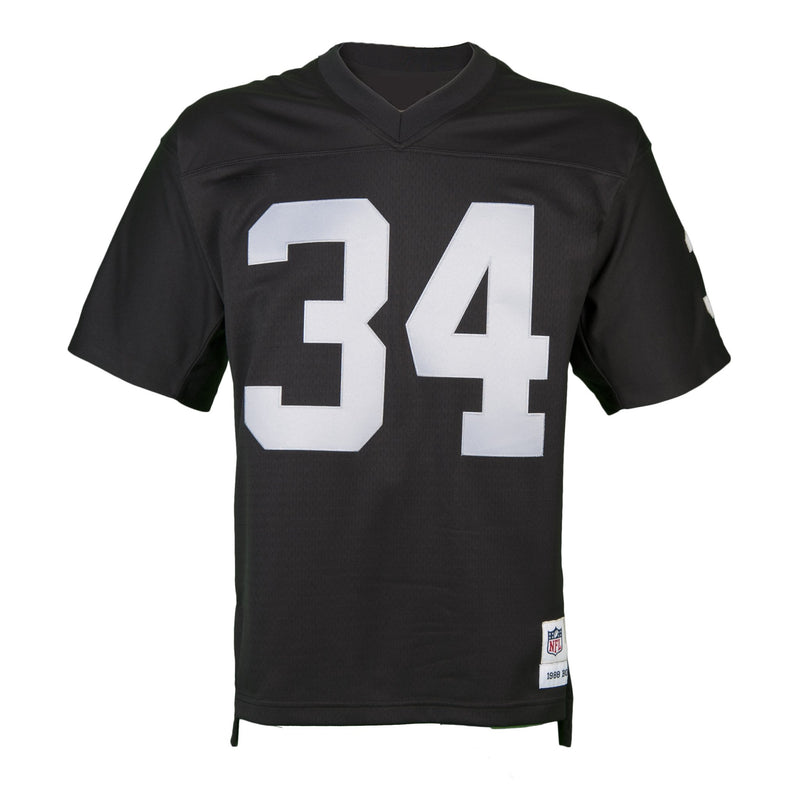 Adult Oakland Bo Jackson Mitchell and Ness Black Retired Player Vintage Jersey