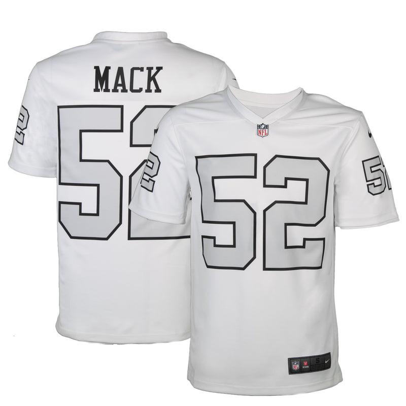2ebe5858f cheapest adult oakland khalil mack nike color rush legend jersey c612d b6700