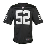 Adult Oakland Khalil Mack Nike Black Game Jersey