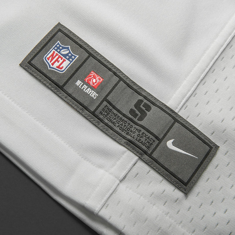 Youth Oakland Marshawn Lynch Nike White Game Jersey
