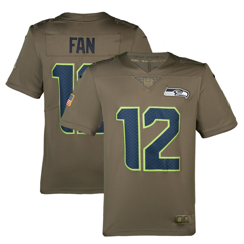 Adult Seattle Fan Nike Salute to Service Limited Jersey