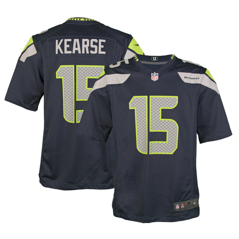 Adult Seattle Jermaine Kearse Nike College Navy Game Jersey