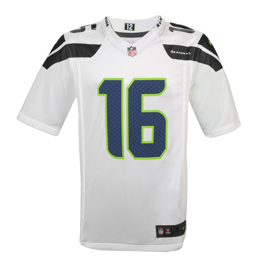e5d8be608 ... Adult Seattle Tyler Lockett Nike White Game Jersey – Rep the ...