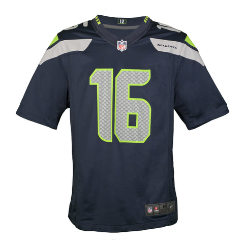 e4e55ef0c7f ... Youth Seattle Tyler Lockett Nike College Navy Blue Game Jersey NIKE  SEATTLE SEAHAWKS ...