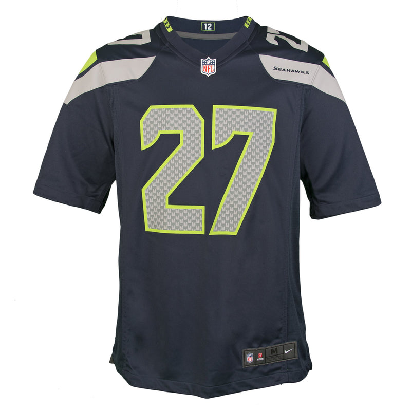 Adult Seattle Eddie Lacy Nike College Navy Game Jersey