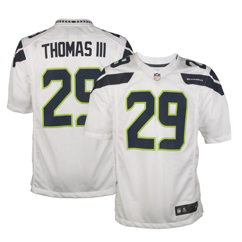 Youth Seattle Earl Thomas Nike White Game Jersey