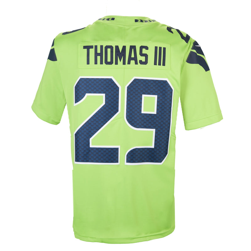Adult Seattle Earl Thomas Nike Action Green Color Rush Limited Jersey