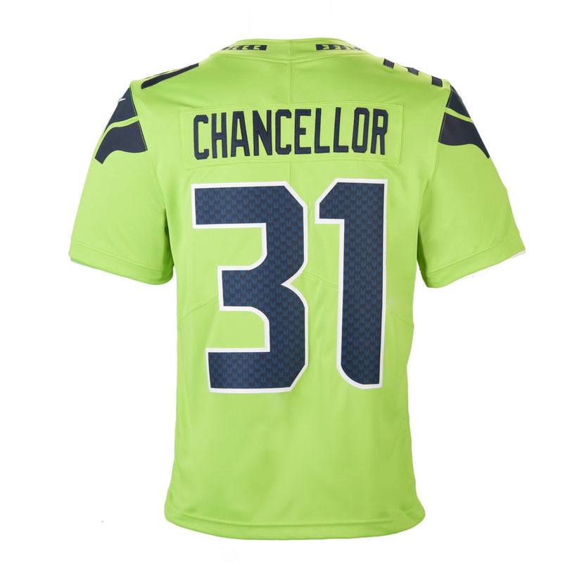 e43f7c0eeaf ... store adult seattle kam chancellor nike action green color rush limited  jersey 61c64 b1d50