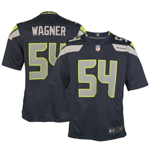 Adult Seattle Bobby Wagner Nike College Navy Game Jersey