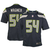 Youth Seattle Bobby Wagner Nike College Navy Blue Game Jersey