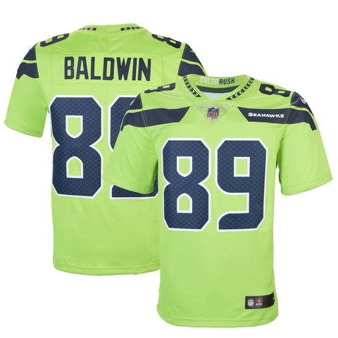 ... NFL Seattle Seahawks 30 Seattle Adult Seattle Doug Baldwin Nike Action  Green Color Rush Limited Jersey ... 0a3edfec7
