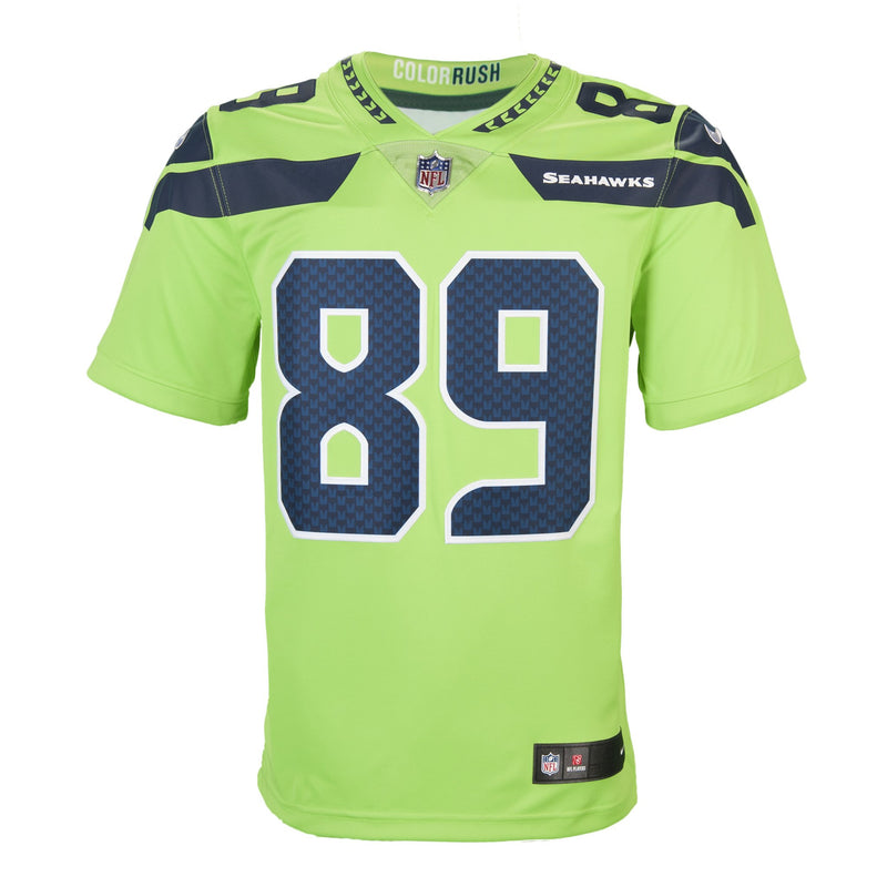 Adult Seattle Doug Baldwin Nike Action Green Color Rush Limited Jersey