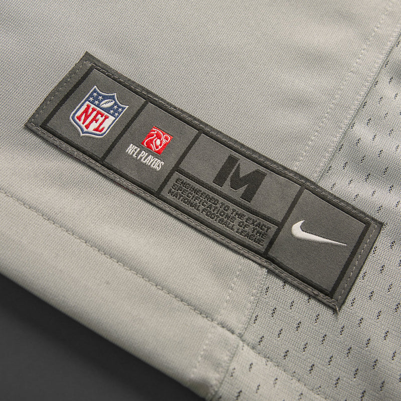Adult Seattle Jimmy Graham Nike Grey Game Jersey