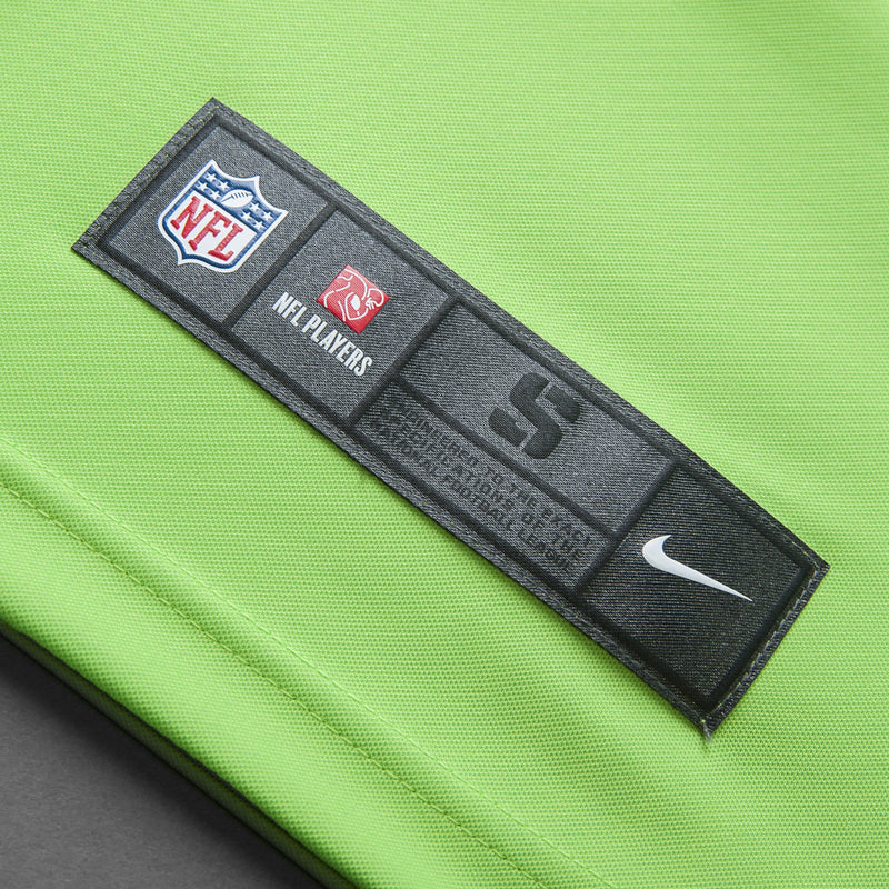 Adult Seattle Jimmy Graham Nike Action Green Color Rush Limited Jersey