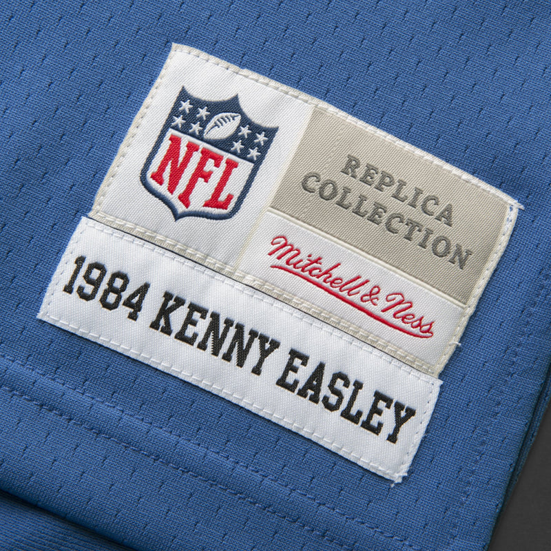 Adult Seattle Kenny Easley Mitchell and Ness Royal Blue Retired Player Vintage Jersey