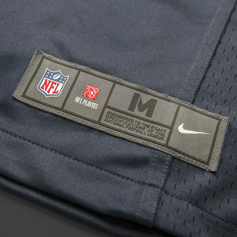 Adult Seattle Tyler Lockett Nike College Navy Game Jersey