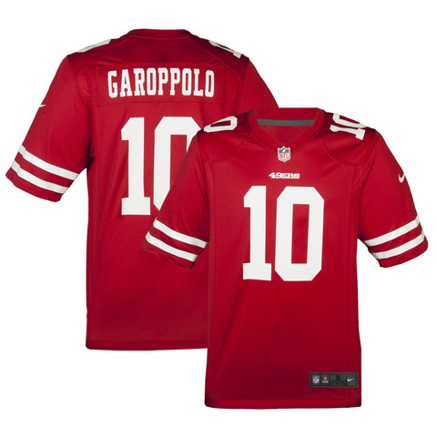 Adult San Francisco Jimmy Garoppolo Nike Scarlet Red Game Jersey