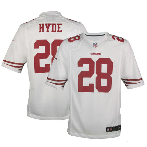d81fbcc8f nfl nike game jersey 2015 mens football jersey san francisco 49ers 28 carlos  adult san francisco