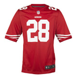 Youth San Francisco Carlos Hyde Nike Scarlet Red Game Jersey