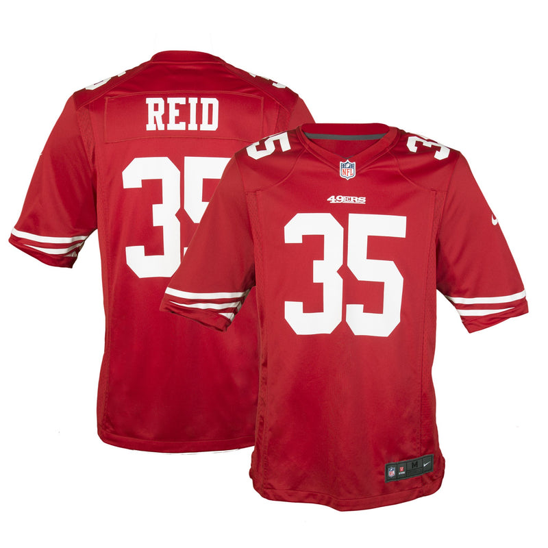 Adult San Francisco Eric Reid Nike Scarlet Red Game Jersey