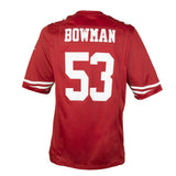 Adult San Francisco NaVorro Bowman Nike Scarlet Red Game Jersey