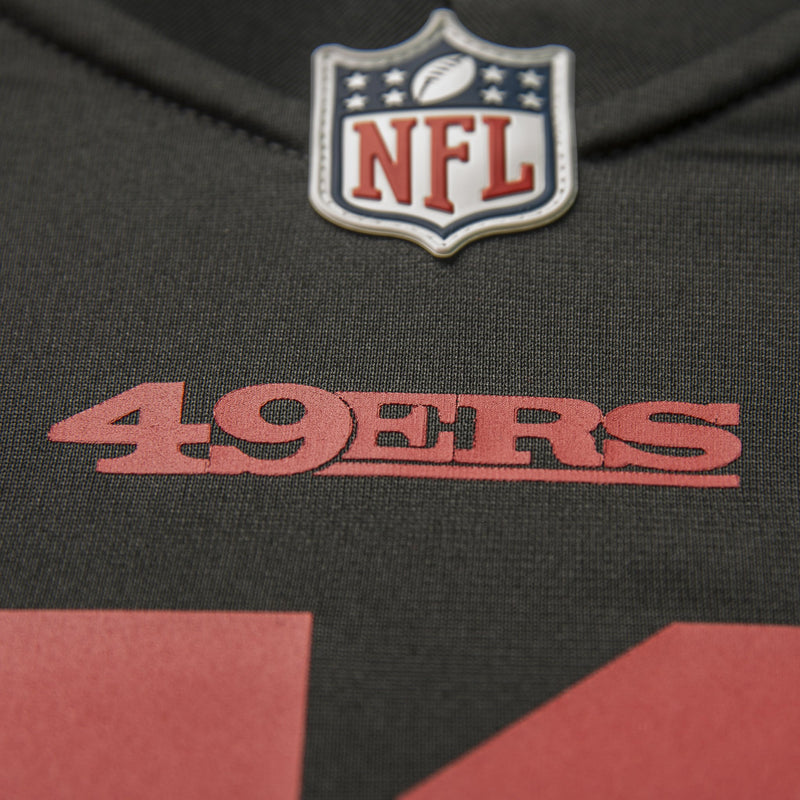Youth San Francisco Carlos Hyde Nike Black Game Jersey