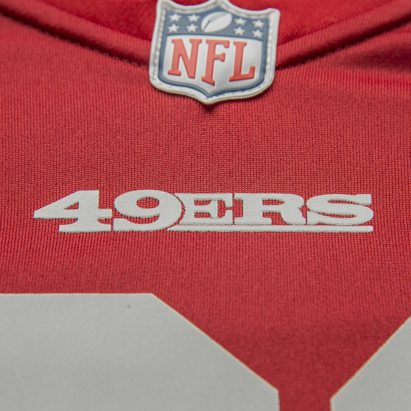 Adult San Francisco Carlos Hyde Nike Scarlet Red Game Jersey