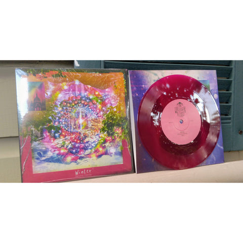"Winter - ""Memória Colorida/Wherever You Are"" (7"" PURPLE VINYL) - Wallflower Records"