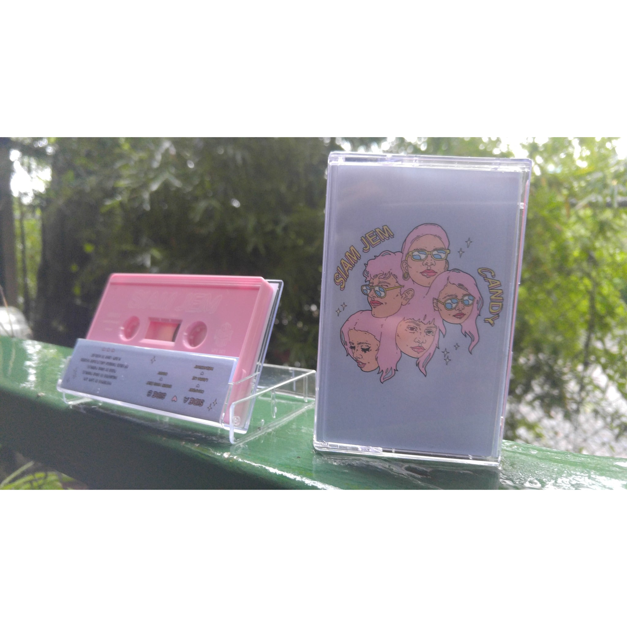 Siam Jem - Candy EP (Cassette) - Wallflower Records