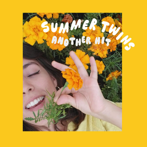 "Summer Twins - ""Another Hit/Dream Girl"" (YELLOW/BLUE 7"" VINYL) - Wallflower Records"