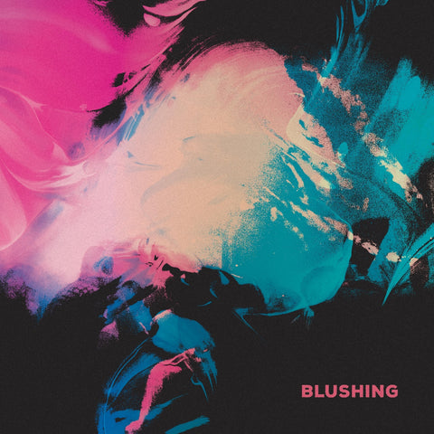 "Blushing - Blushing (Blue/Pink ""Galaxy"" LP) **PRE-ORDER** - Wallflower Records"