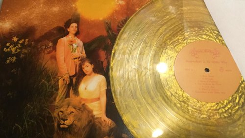 Holy Golden - Sleepwalkers in the Milky Way (Gold-Metallic LP) - Wallflower Records