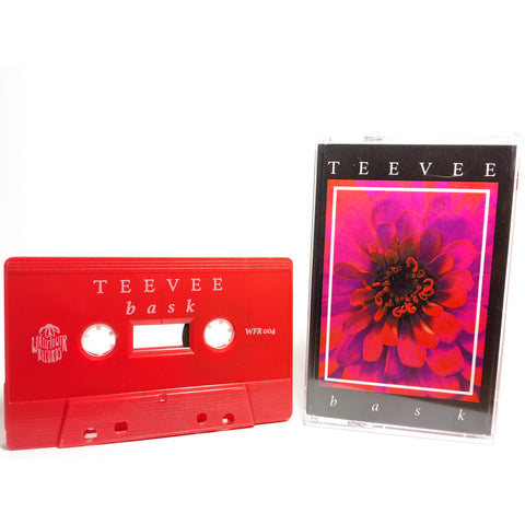 TEEVEE - b a s k (Cassette) - Wallflower Records