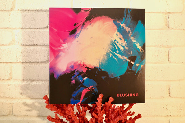 "Blushing - Blushing (Pink ""Galaxy Swirl"" LP) - Wallflower Records"