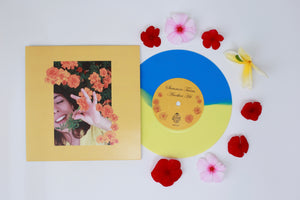"Summer Twins - ""Another Hit/Dream Girl"" (7"" YELLOW/BLUE VINYL) - Wallflower Records"